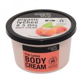Krem do ciała Organic shop Różowe liczi 250