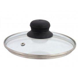 Pokrywka szklana z odpowietrznikiem 26 cm DOMOTTI