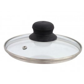 Pokrywka szklana z odpowietrznikiem 16 cm DOMOTTI