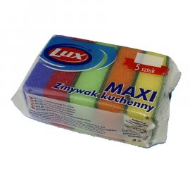 Zmywak kuchenny gąbki Maxi Lux 4+1 do teflonu