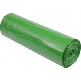 Worki ogrodowe z taśmą 120L zielone