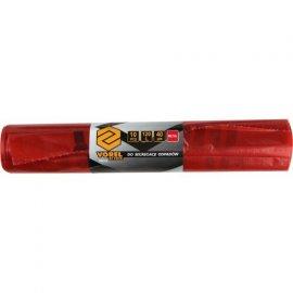 Worki do segregacji odpadów METAL 120L czerwony z nadrukiem