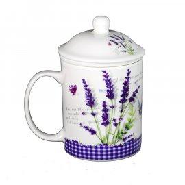 Kubek z zaparzaczem Lavender 330ml