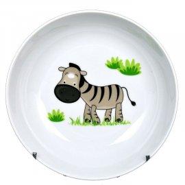 Talerz Roma głęboki 18 Zebra dek. 5137 Lubiana