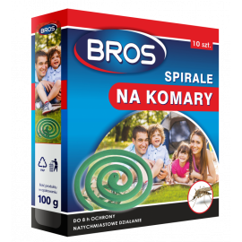BROS spirale na komary