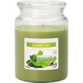 Świeca zapachowa w szkle z wieczkiem Zielona Herbata