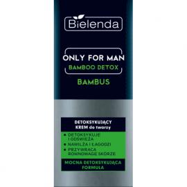 Only for Man BAMBOO DETOX Detoksykujący krem do twarzy Bielenda