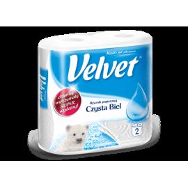 Ręcznik papierowy kuchenny Czysta Biel Velvet