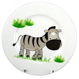 Talerz Roma płytki 21 Zebra dek. 5137 Lubiana