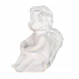 Figurka gipsowa Aniołek zamyślony