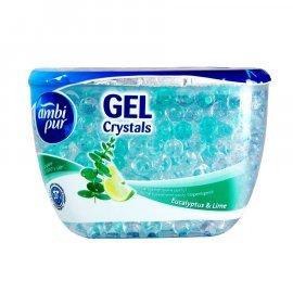 Ambi Pur Gel Crystals odświeżacz powietrza eukaliptusa i limonki