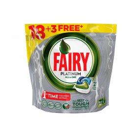Kapsułki do zmywarki Fairy Platinum 18 + 3 szt