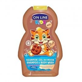 On Line szampon i żel do mycia 2w1 Czekoladowe ciastko