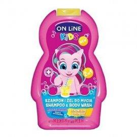 On Line szampon i żel do mycia 2w1 LEMONADE