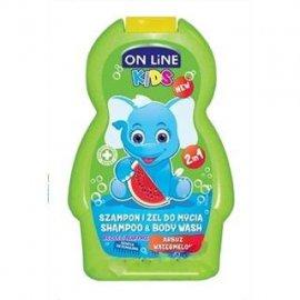 On Line szampon i żel do mycia 2w1 WATERMELON