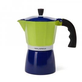 Kawiarka do espresso Blue na 6 filiżanek Florina