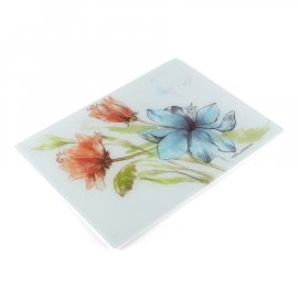 Florina Deska kuchenna szklana Floris mała 20 x 30 Florina