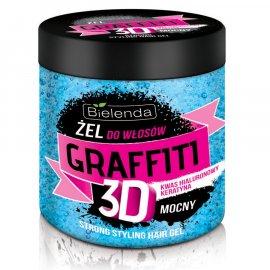 Graffiti 3D Żel do włosów MOCNY Bielenda