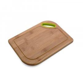 Deska kuchenna bambusowa Polia z silikonem 28x20 Florina
