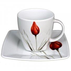 Filiżanka ze spodkiem 250 Victoria 3830 tulipan Lubiana