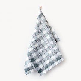 Ścierka kuchenna czapla 50x70 Margaretki szary Zwoltex