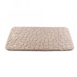 Dywanik łazienkowy Miss Lucy Mosaic kamienie 50x80 beżowy