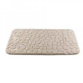 Dywanik łazienkowy Miss Lucy Mosaic kamienie 50x80 ecru