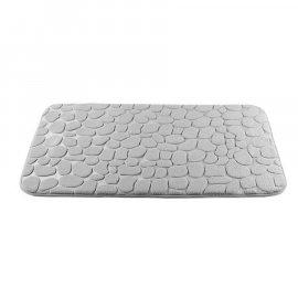 Dywanik łazienkowy Miss Lucy Mosaic kamienie 50x80 szary