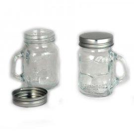 4 szklane przyprawniki kubki 4x100ml Aroma Florina