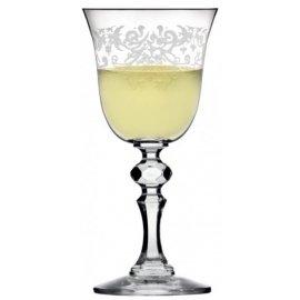 Kieliszki do wina białego 150ml Krista Deco 6 szt Krosno