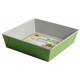 Blacha do pieczenia 23,5x23,5 zielona non-stick SNB