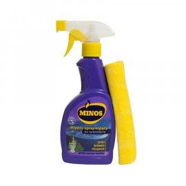 Spray myjący do nagrobków + ścierka 0,4 l MINOS