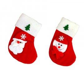 Skarpeta świąteczna filcowa 17 cm