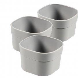 3 pojemniki do szuflady organizer 8x8x5 cm Curver