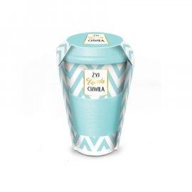 Kubek termiczny ceramiczny 400 Żyj każdą chwilą BGtech