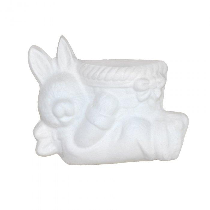 Gipsowa figurka Zając Wielkanoc