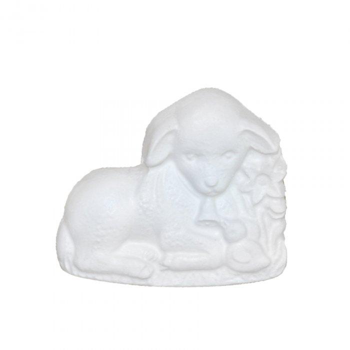 Gipsowa figurka Baranek i Kaczuszka Wielkanoc
