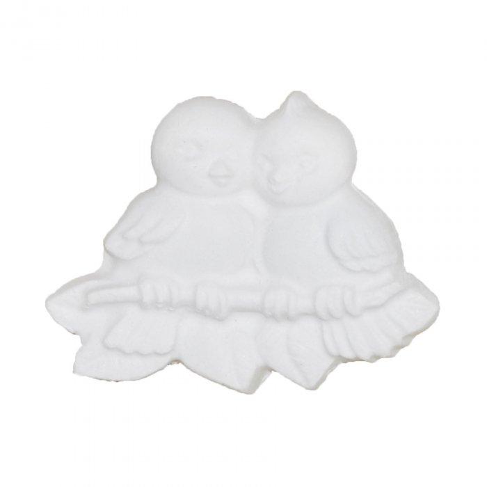 Gipsowa figurka Ptaszki na gałązace Wielkanoc