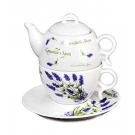 Komplet herbaciany 3 cz Bola 5979 lawenda Lubiana