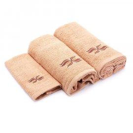 Kpl. 3 elementy Ręczniki Miss Lucy Wings beżowe