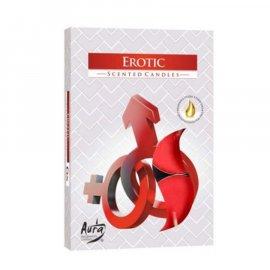 Podgrzewacz zapachowy Erotic Tealight 6szt Bispol