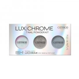 Zestaw pudrów do paznokci LuxChrome Catrice