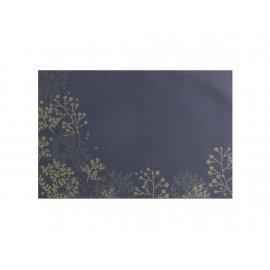 Mata stołowa PVC/PS Nordic Gałązka 30 x 45 cm żółto-niebieska AMBITION