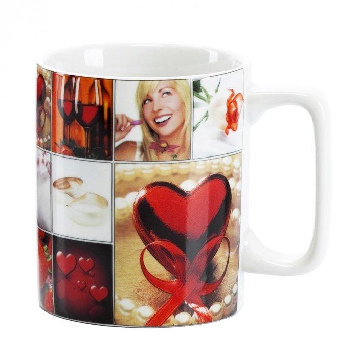 Walentynki Kubek porcelanowy LOVE Gift serce
