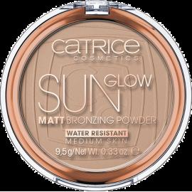 Puder brązujący - Sun Glow Matt Bronzing Powder Catrice