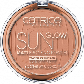 Puder brązujący 020 Sun Glow Matt Bronzing Powder Catrice