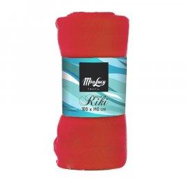 Koc 100x140 RIKI Czerwony Miss Lucy