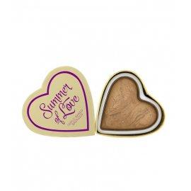 I Heart Blushing Hearts - Summer of Love Bronzer I♡Makeup Revolution