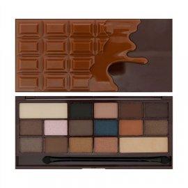 I Heart Revolution I ♡ Chocolate Salted Caramel 16 Paletka cieni