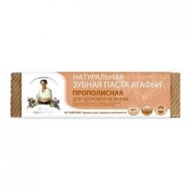 Organiczna pasta do zębów Agafji – propolisowa– zdrowe wybielanie